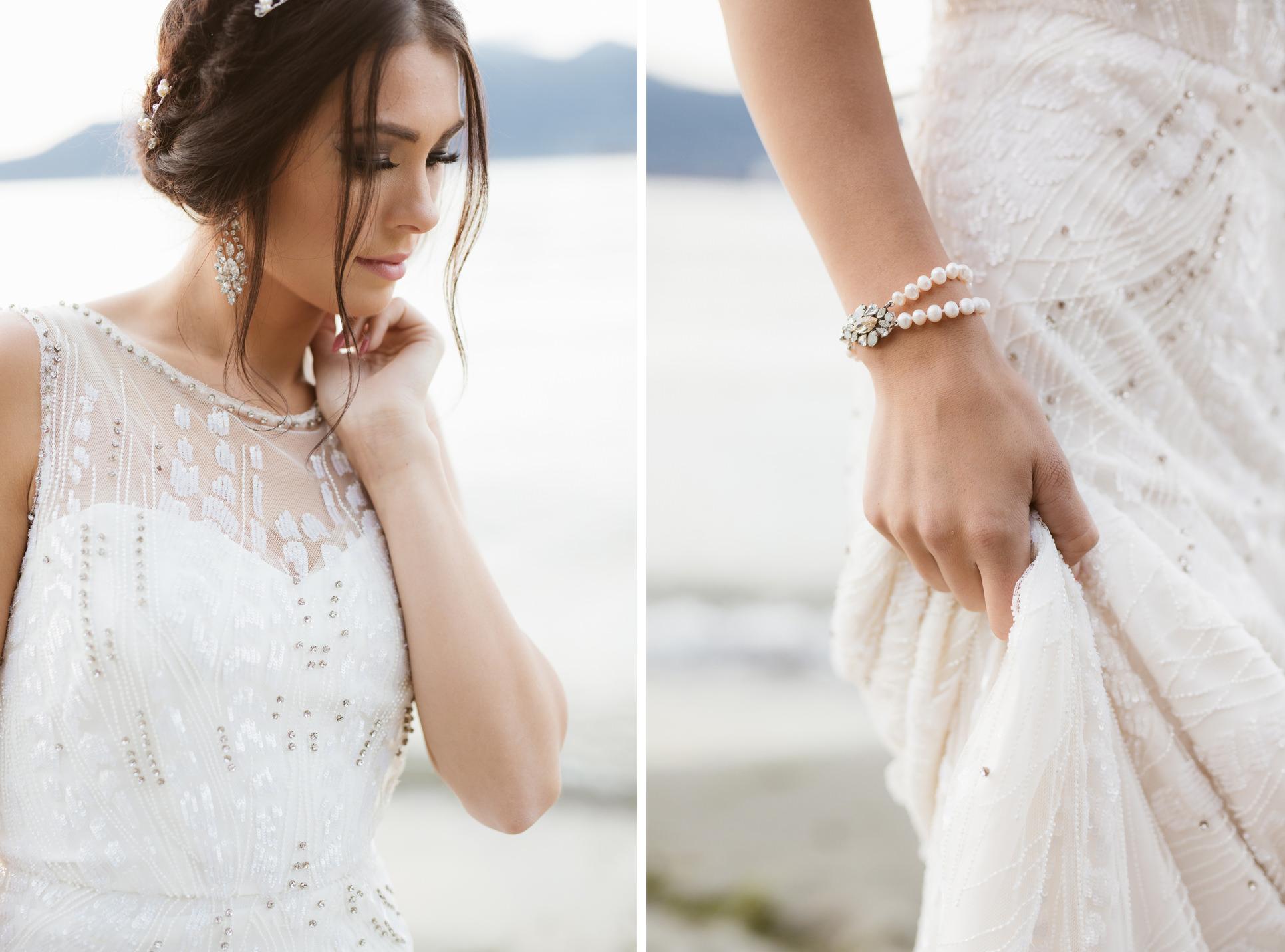 """Sunset dream"" bridal inspirational shoot | Camilla Anchisi Photography - Italian Destination Wedding"