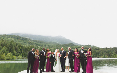 Nita Lake Lodge Wedding - Whistler BC Canada - Camilla Anchisi Photography
