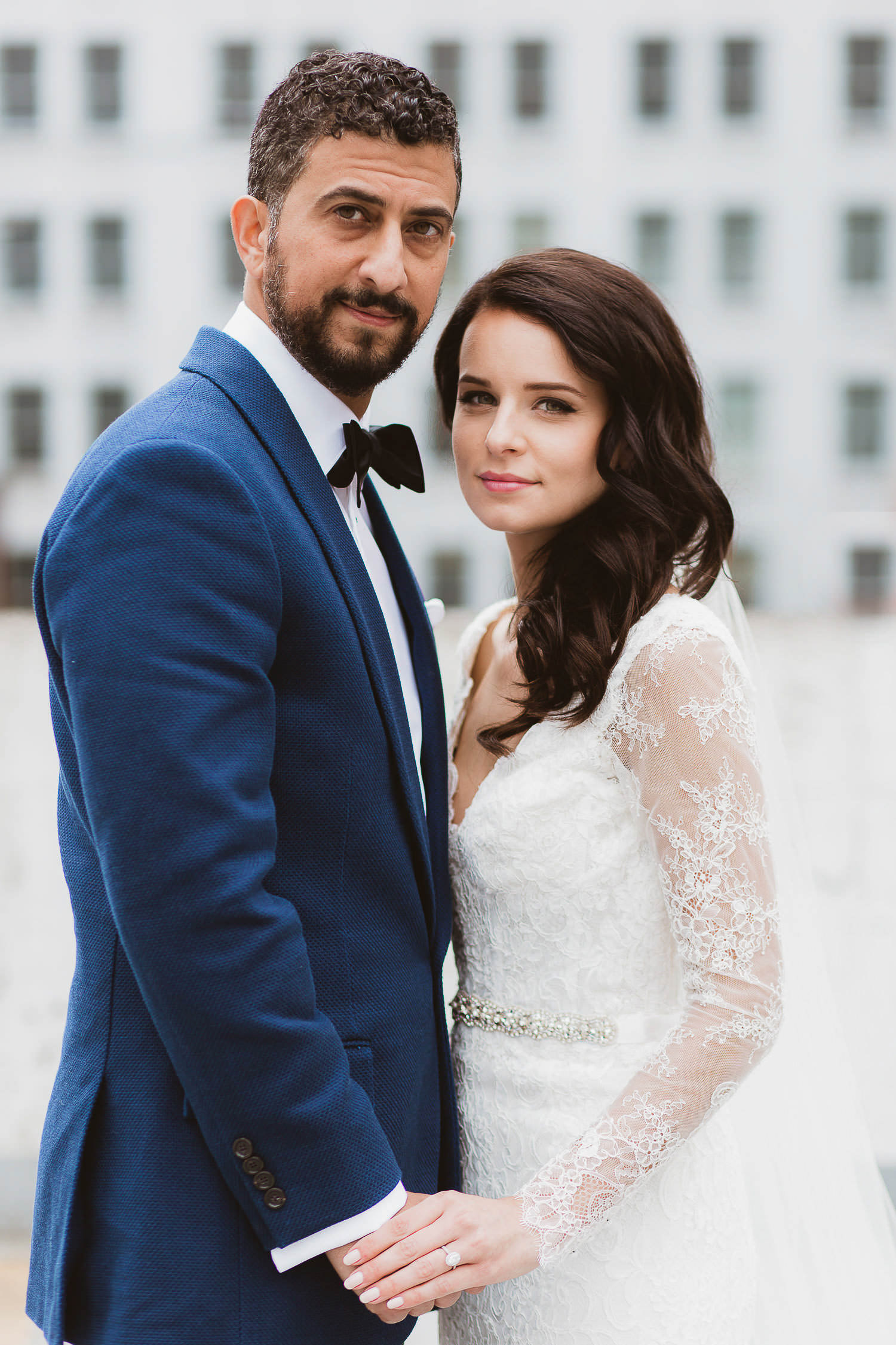 Stylish chic wedding in downtown Vancouver, Maggie Sottero bride | Photo: Camilla Anchisi