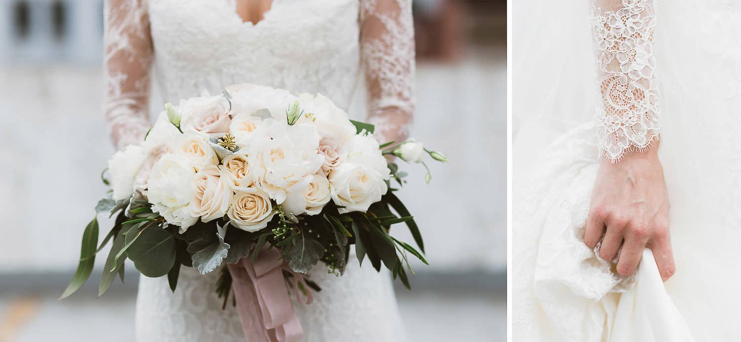 Gorgeous wedding bouquet for a unique and stylish bride
