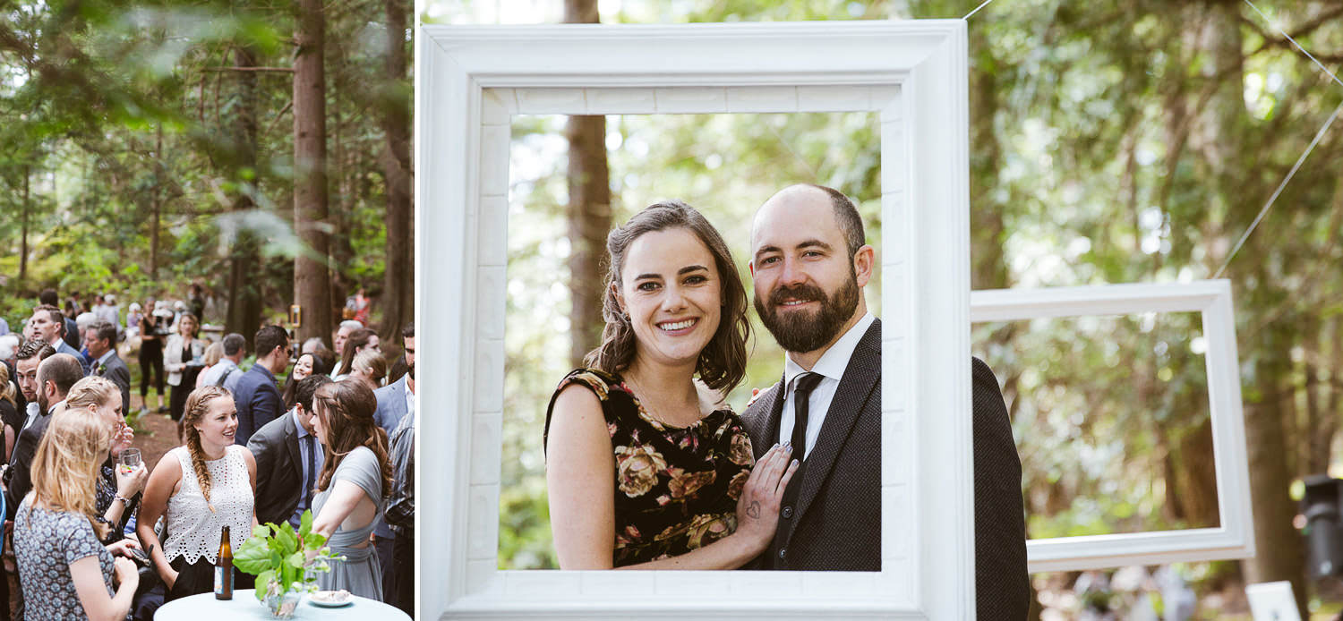 Boho wedding - guests