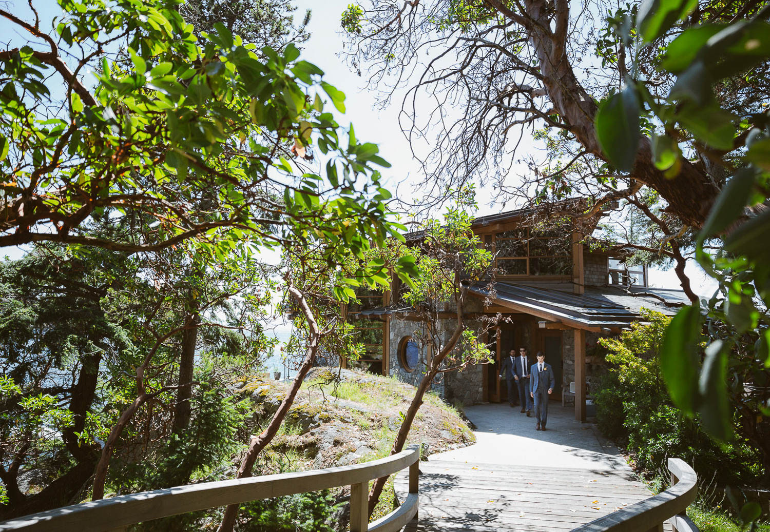 Private villa overlooking the ocean in Bowen Island