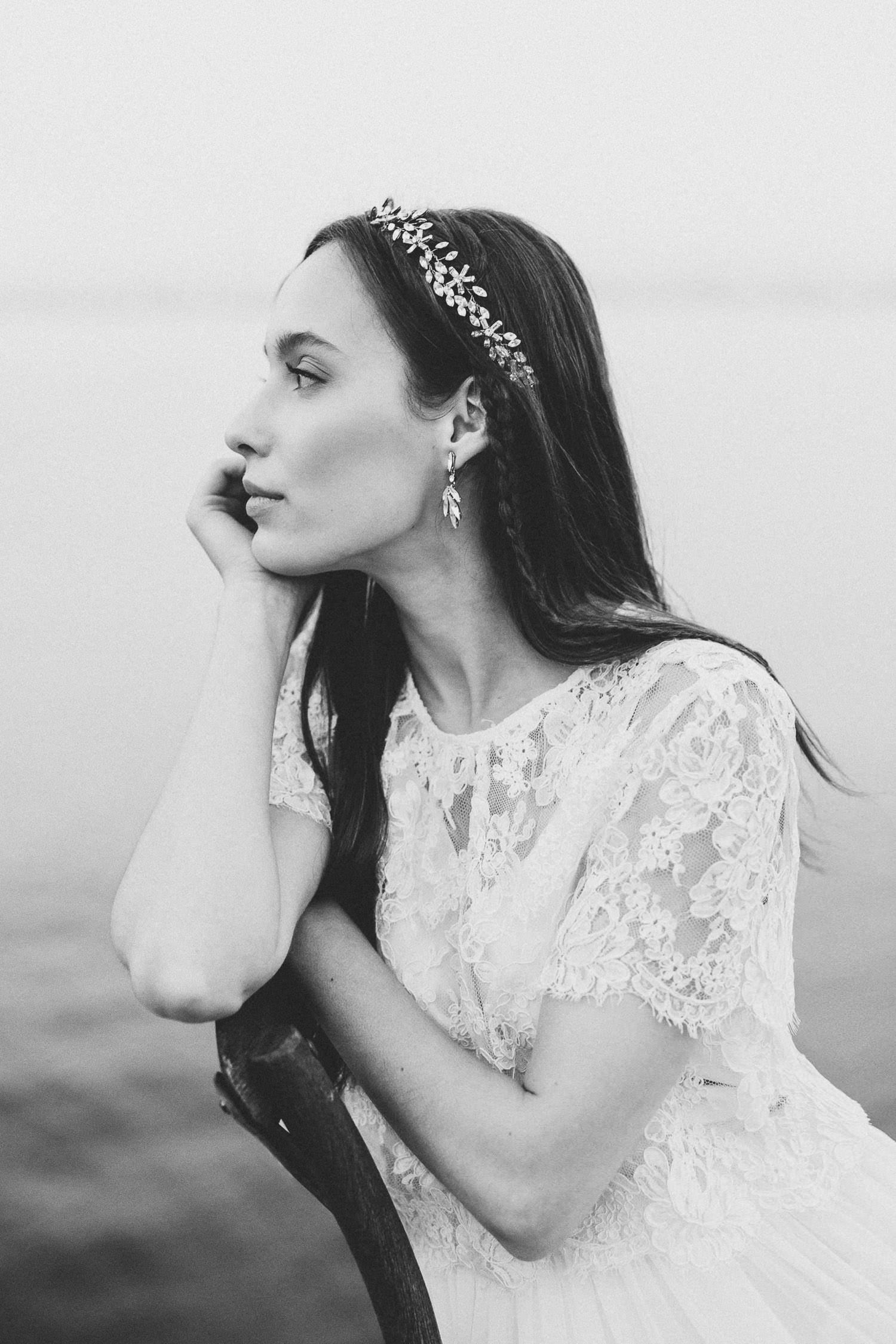 Fine Art bride - ethereal boho wedding | Photo: Camilla Anchisi, Wedding photographer in Tuscany