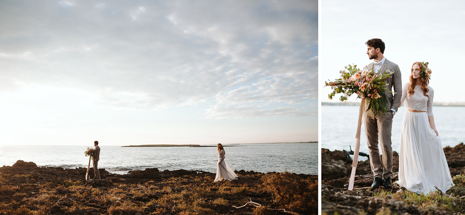 First look - Elopement in Puglia - Photo: Camilla Anchisi