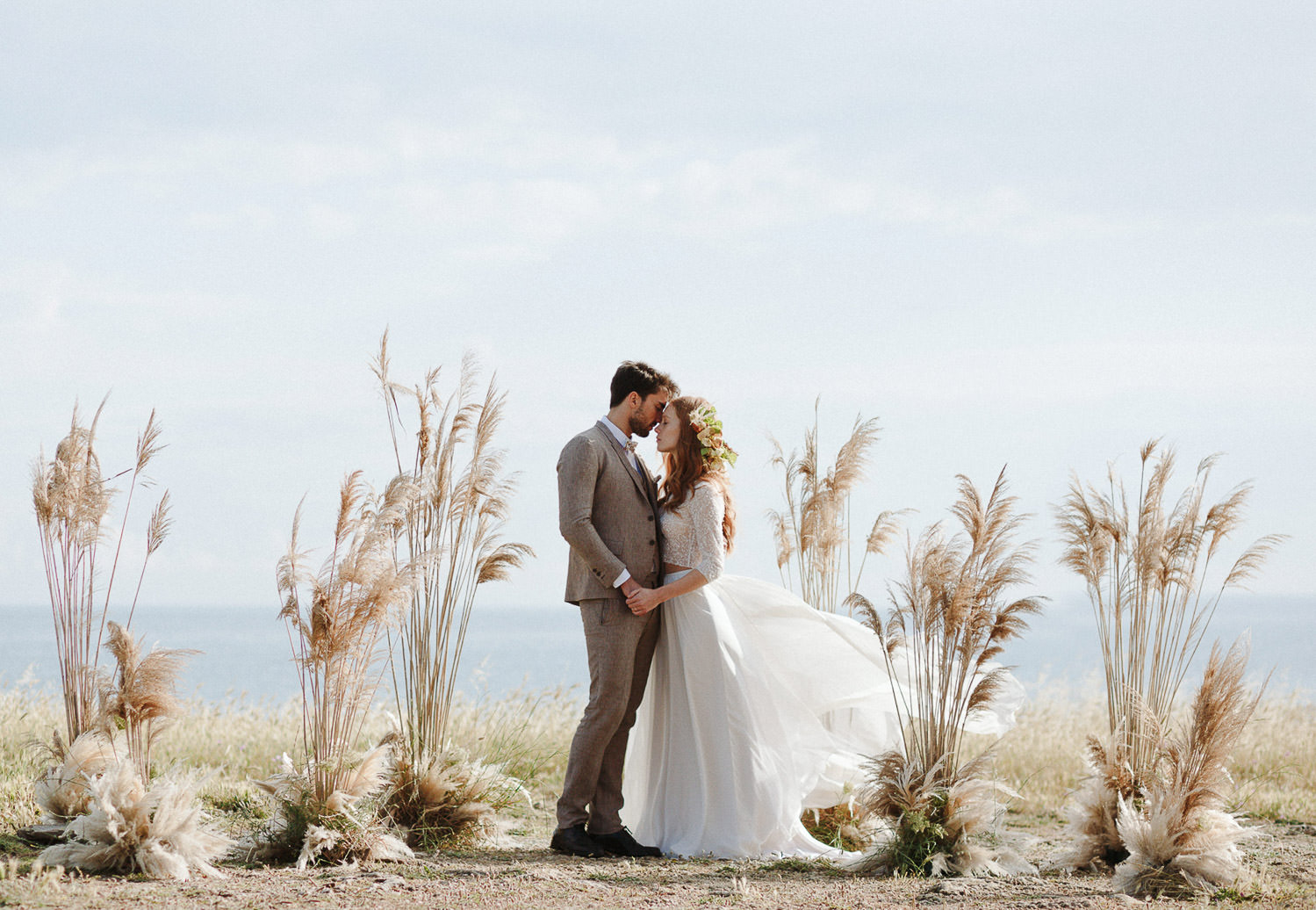 Romantic and ethereal elopement in Puglia - Photo: Camilla Anchisi - Italian destination photographer