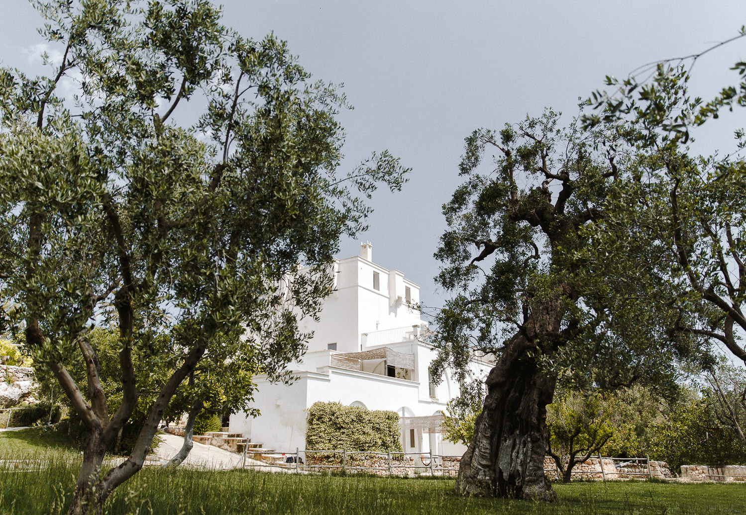 Masseria Alchimia in Praiano view from the garden - Wedding in Puglia