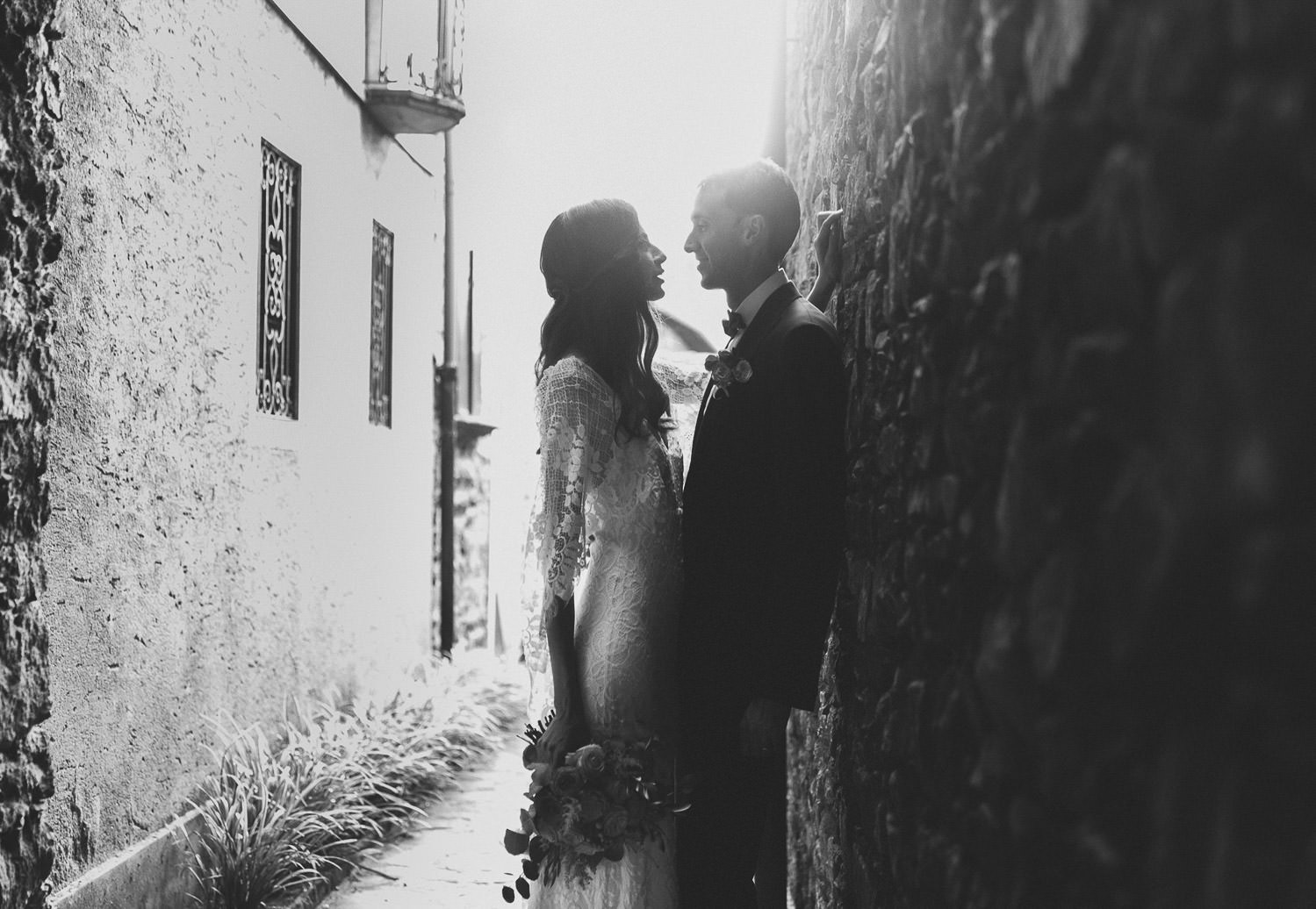 Romantic intimate wedding in Lake Orta | Photo: Camilla Anchisi Lake Orta wedding photographer