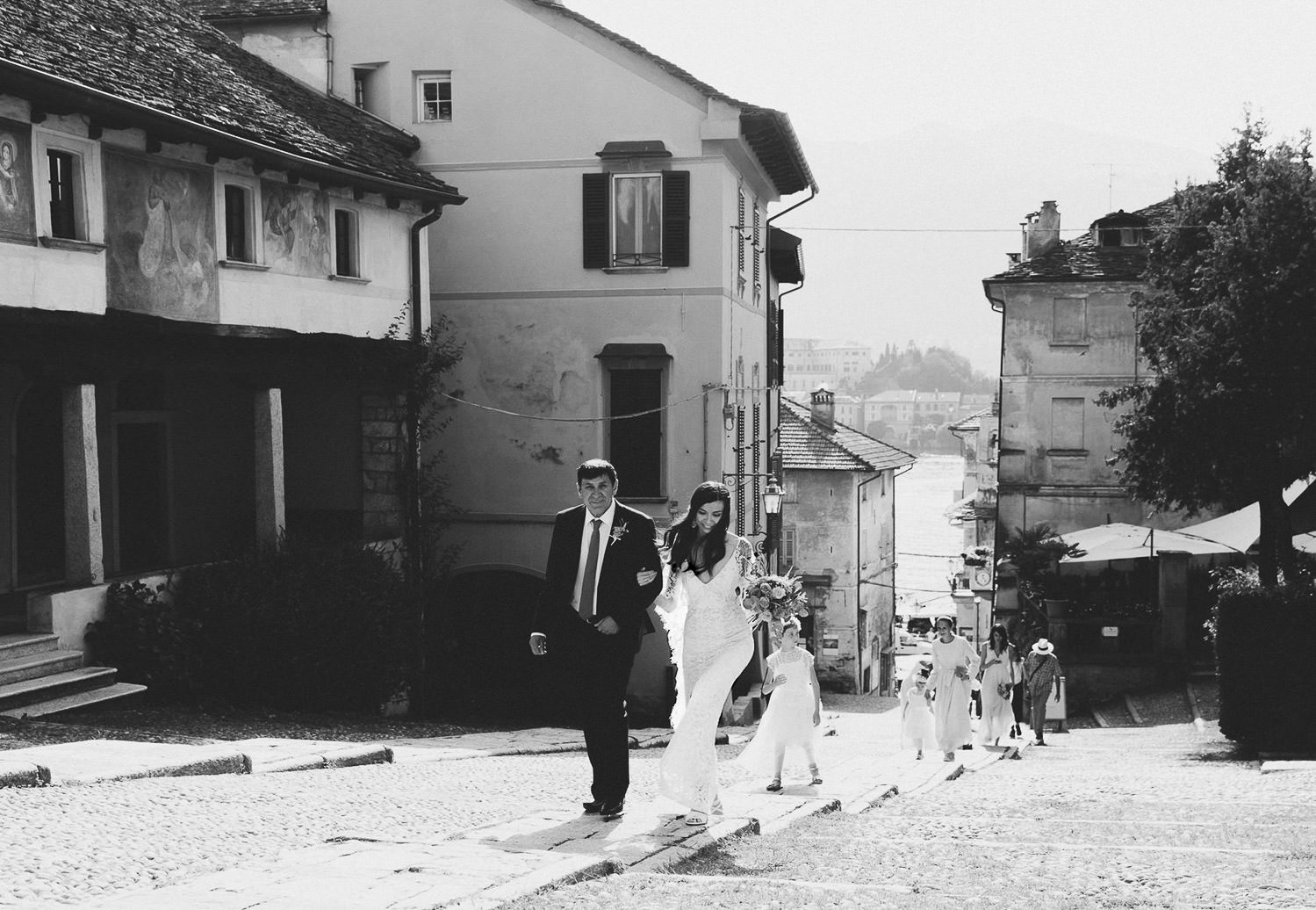 Wedding at Orta San Giulio, Lake Orta. Photo: Camilla Anchisi Lake Orta wedding photographer