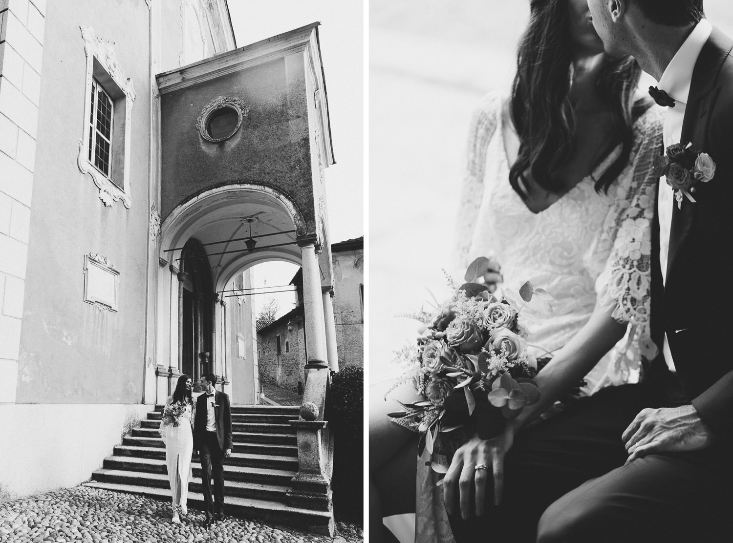 Intimate & Romantic Lake Orta wedding - Couple session | Lake Orta wedding photographer