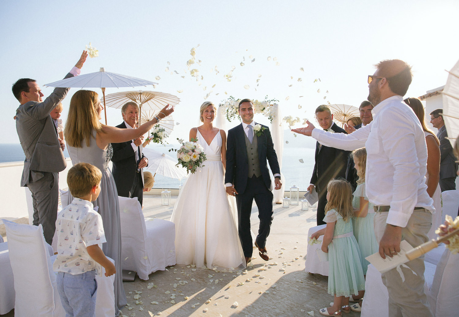 Positano wedding photographer - Intimate ceremony at luxury boutique hotel Casa Angelina in Positano on the Amalfi Coast