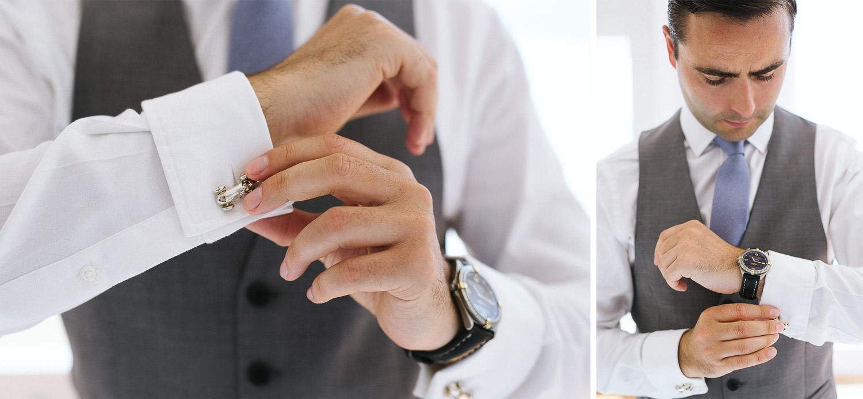 Groom getting ready details - Ravello wedding