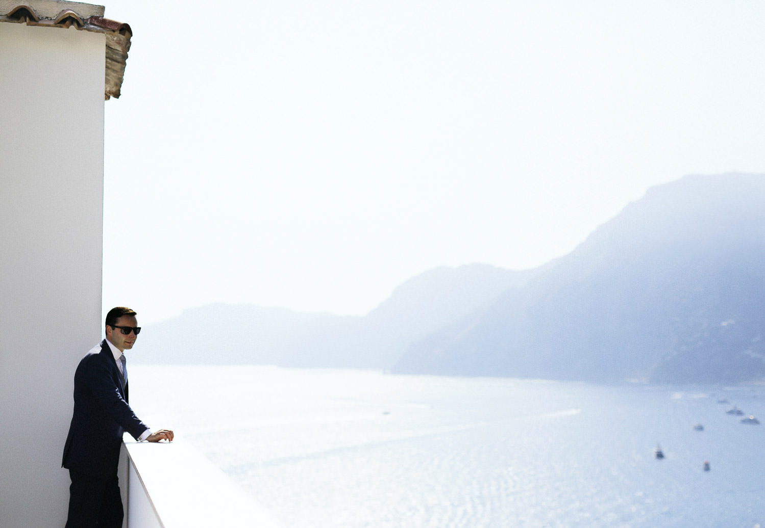 Luxury Amalfi Coast wedding - Casa Angelina rooftop