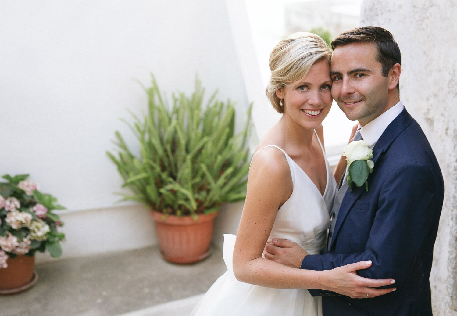Elegant intimate wedding in Ravello - Italian destination wedding photographer - Camilla Anchisi