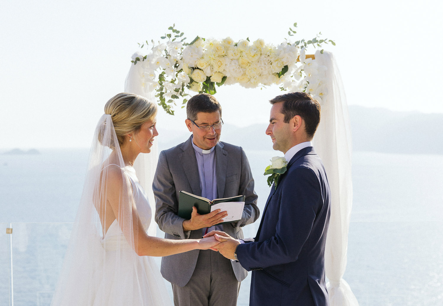 Romantic intimate wedding at Casa Angelina, Amalfi Coast wedding photographer