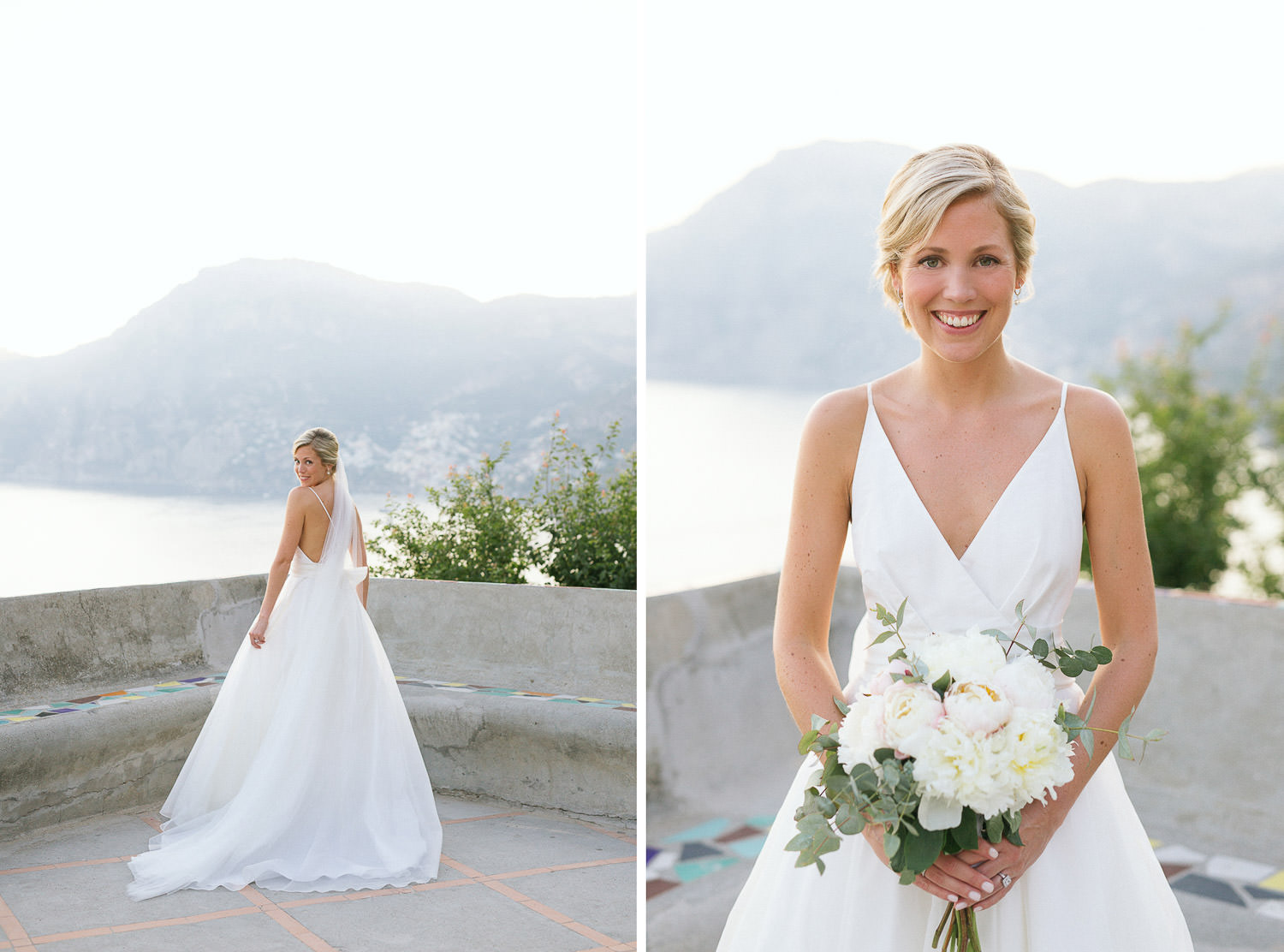 Bride getting ready at Casa Angelina - Amalfi Coast wedding - Photo: Camilla Anchisi -Amalfi Coast wedding photographer