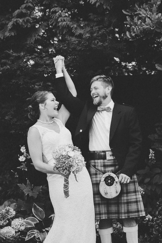 Beautiful Scottish couple - ceremony | Photo: Camilla Anchisi Photography