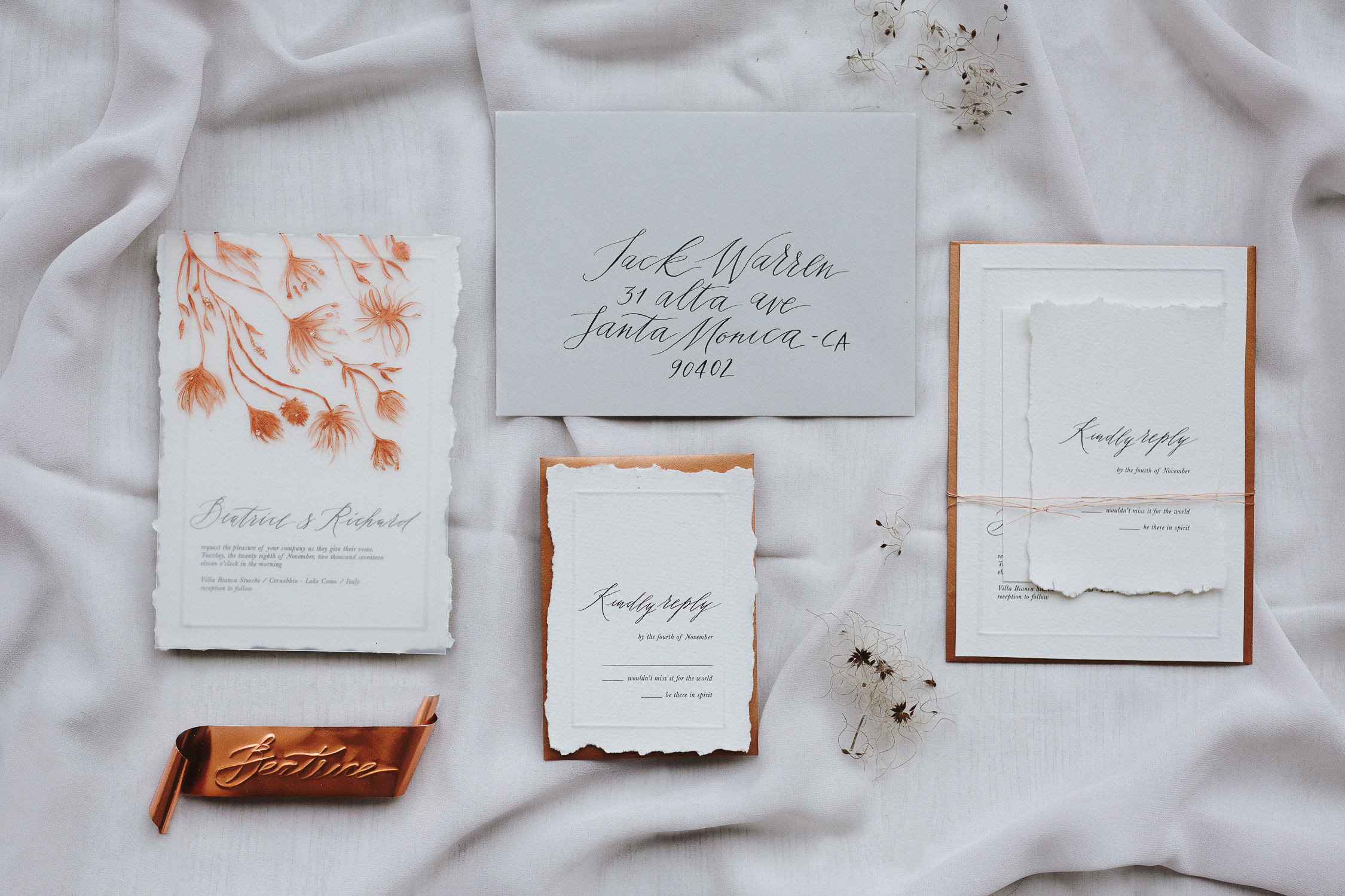 modern_bespoke_wedding_invitation-copper-foil-paint