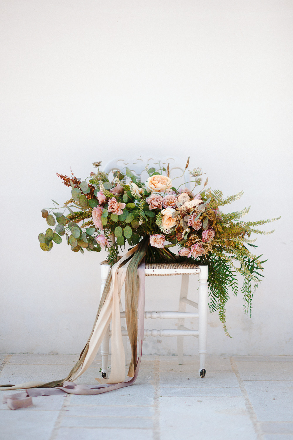 Gorgeous wedding bouquet created by Chiara Sperti | Photo: Camilla Anchisi Photography