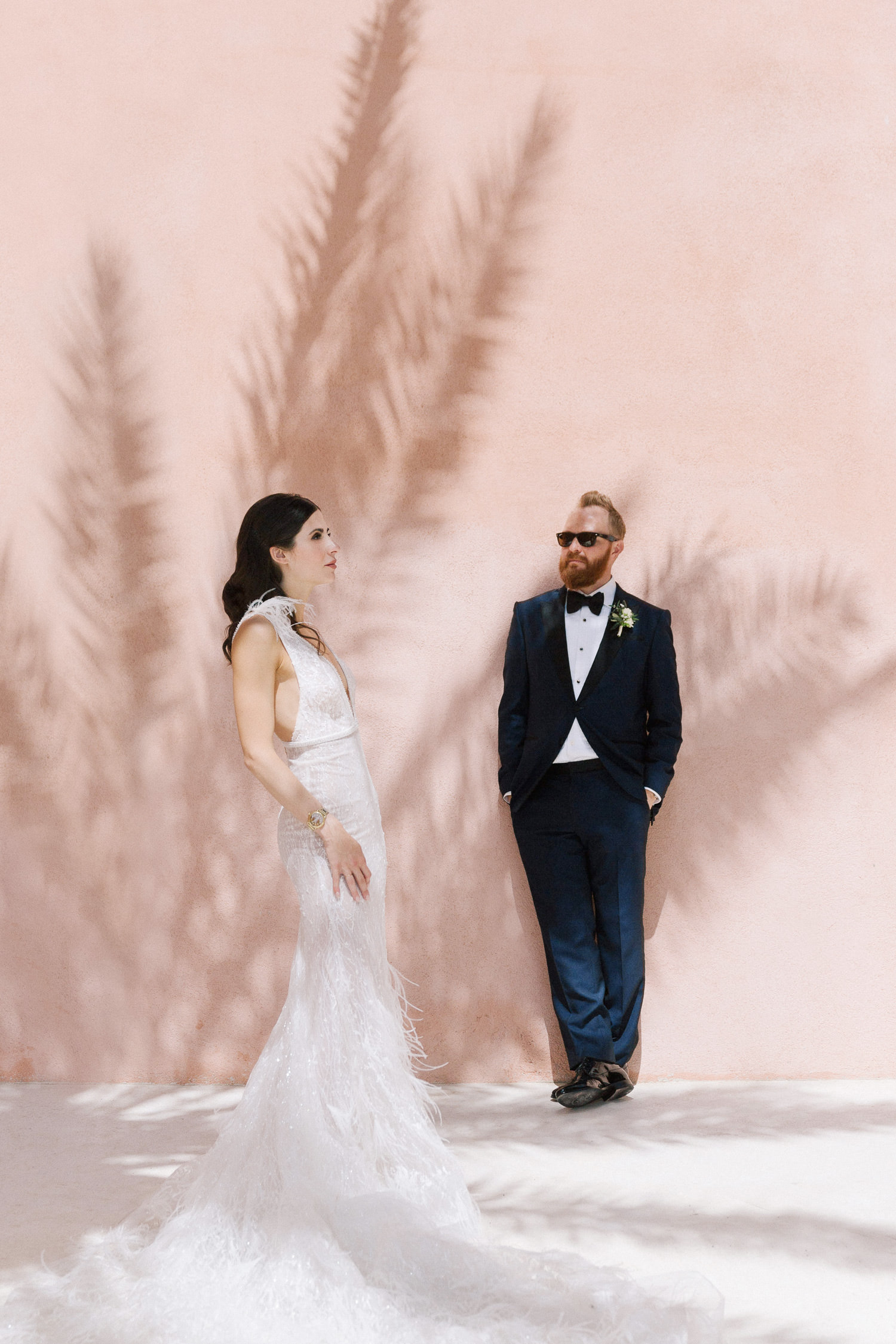 Luxury wedding at Villa San Giacomo in Positano. Bride and groom's portrait | Photo: Camilla Anchisi Photography