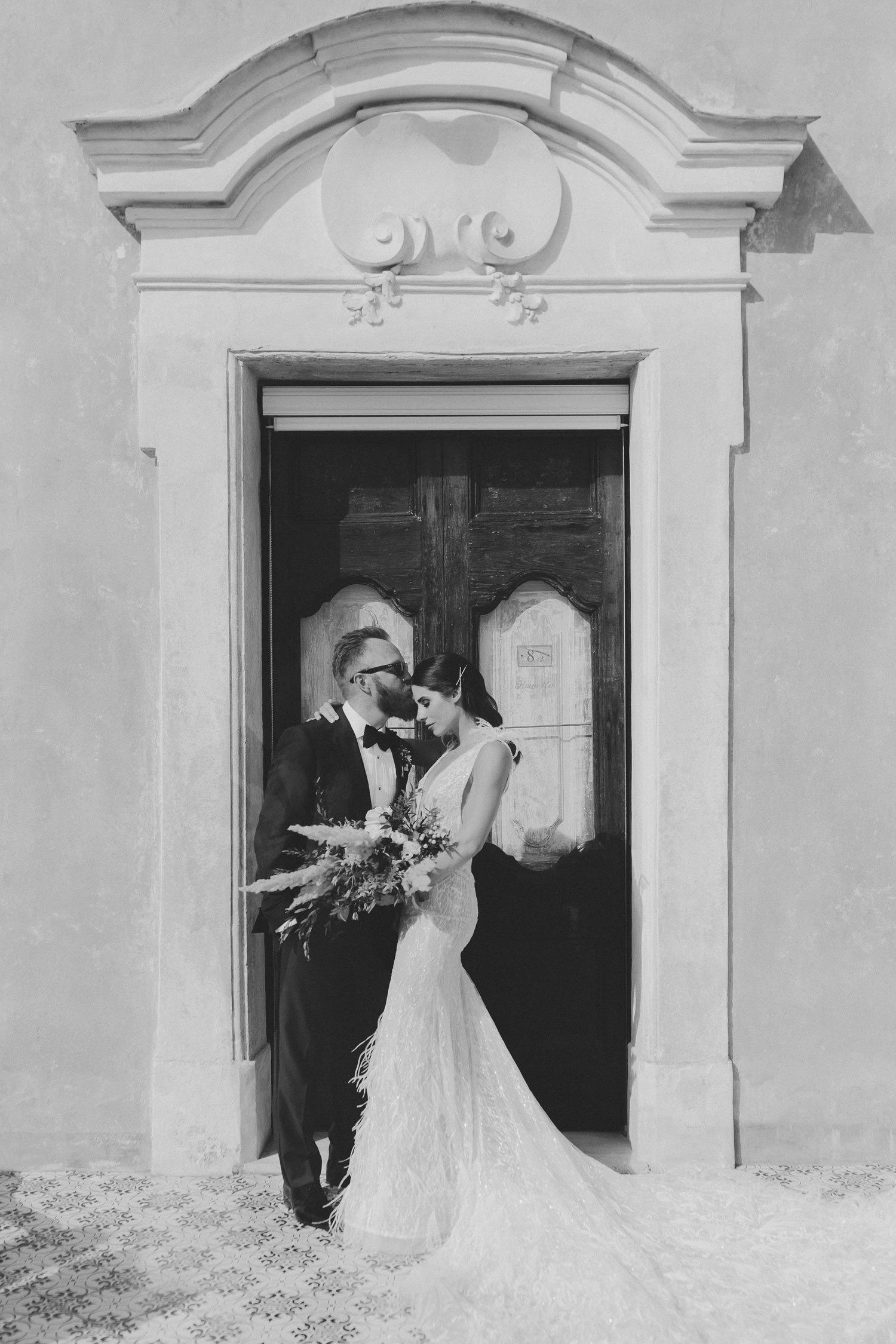 Luxury Villa San Giacomo wedding, Positano | Photo: Camilla Anchisi Photography - Villa San Giacomo wedding photographer